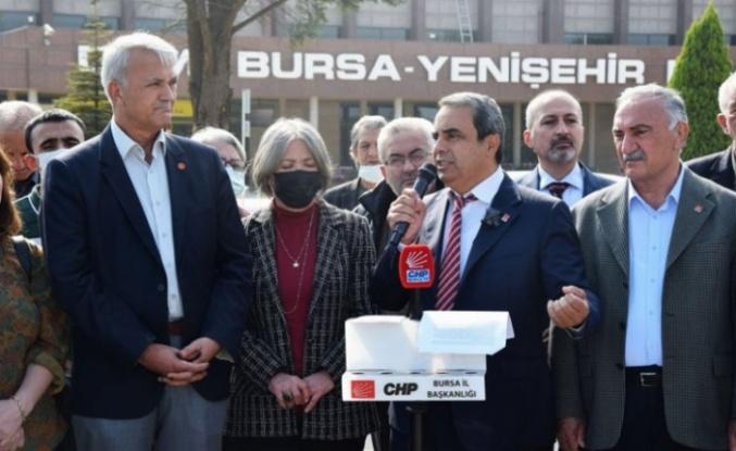 Bursa'da CHP'den 'Yenişehir Havaalanı canlandırılsın' çağrısı