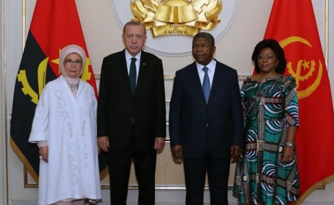 """Erdoğan: """"Türkiye-Afrika iş ilişkileri daha da gelişecek"""""""