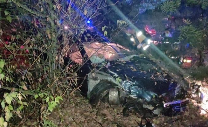 Trafik kazasında Çin uyruklu 1 kişi öldü, 4 kişi yaralandı