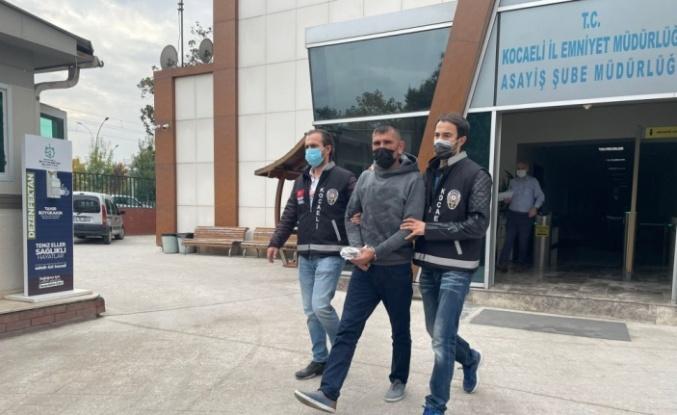 Gölcük'te belediye işçisinin öldürülmesiyle ilgili yakalanan zanlı tutuklandı