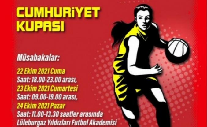 """Kırklareli Lüleburgaz'da """"Cumhuriyet Kupası"""" heyecanı"""