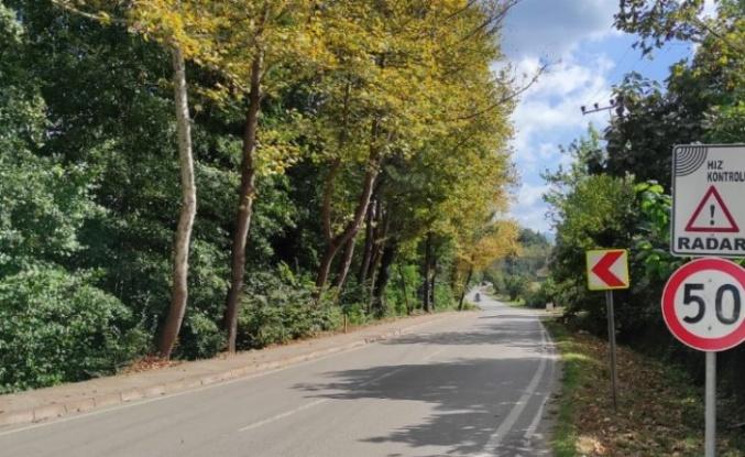 Başiskele Hoca Ahmet Yesevi Caddesi'ne duble yol