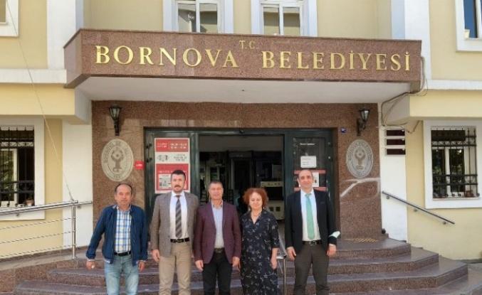 İzmit Belediyesi'nden Bornova'ya ziyaret