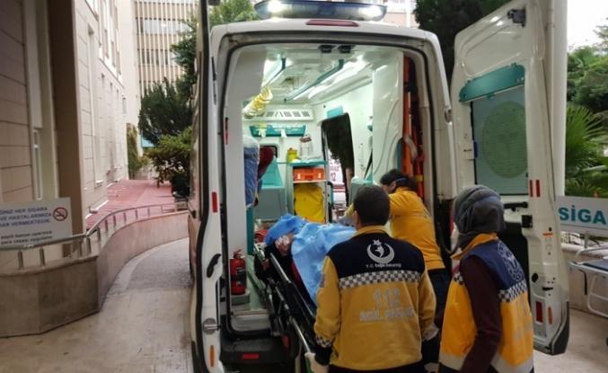 Eşi tarafından bıçaklanan kadın ağır yaralandı