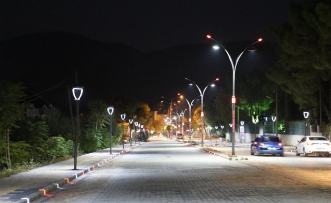 Manisa'da 56 Sokakta prestij cadde çalışması tamamlandı