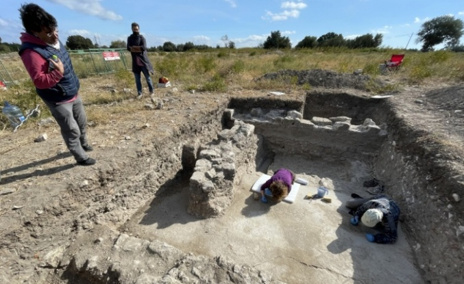 Troya'da bulunan zemin mozaiği kazıların dönüm noktası olacak