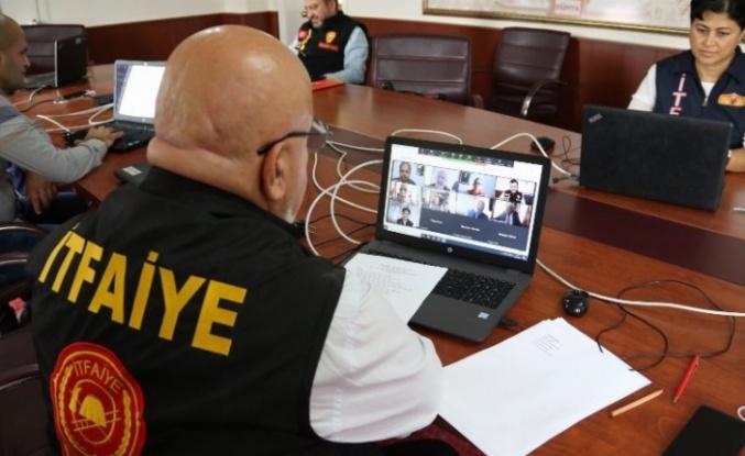 Yerel yönetimlerde online AFAD çalıştayı