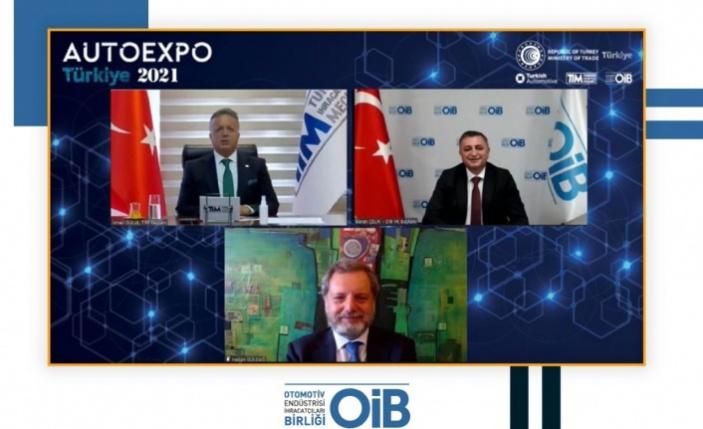 OİB'in Auto Expo Türkiye-Avrupa Dijital Fuarı açıldı