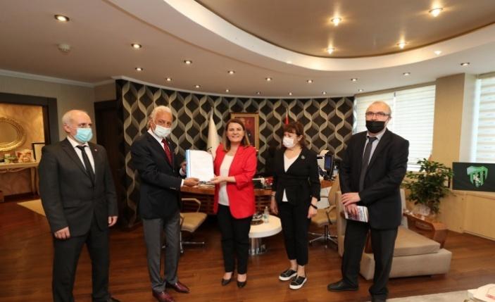 Vatan Partisi'nden Başkan Hürriyet'e ziyaret