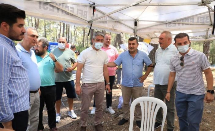 CHP'lilerden 'İkizköy' dayanışması