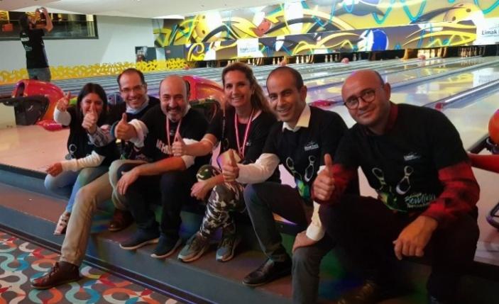 Medya Limak Enerji'nin bowling turnuvasında buluştu